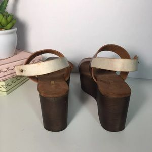 604f71f4b78 Urban Outfitters Shoes - Cooperative Piper Wood Bottom Platform Sandal