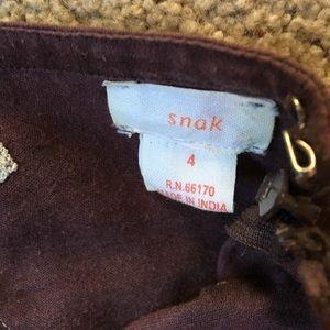 snak Skirts - Embroidered skirt