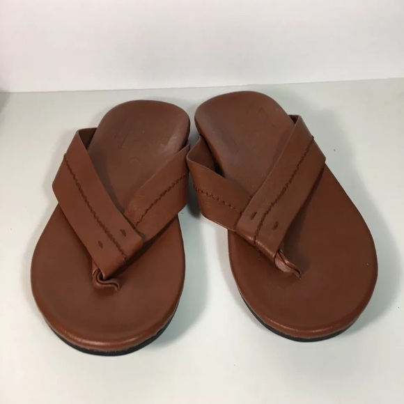 9f9b22dfa4 TOMS Semana Brown Leather Thong Flip Flop Sandal. M_59641a6c13302a5427025793