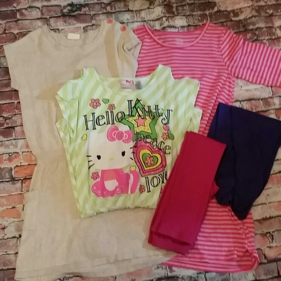 952f024cb Hello Kitty Dresses | Bargain Box 2 Crazy 8 Fg Girls 10 | Poshmark