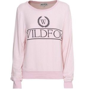 Wildfox Pink Sweater!