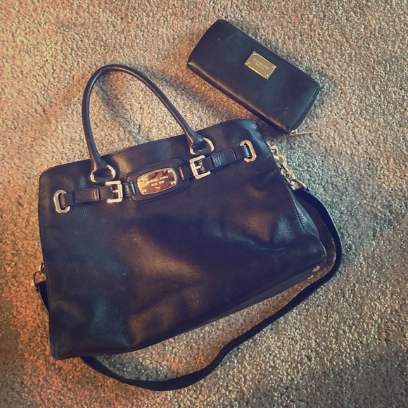 Michael Kors Bags Leather Purse With Matching Wallet