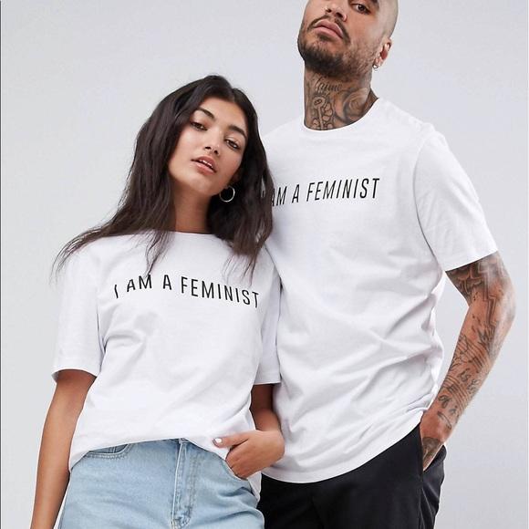 2e64c685f I AM A FEMINIST t shirt - Small. NWT. Asos. $25 $0. Size. S