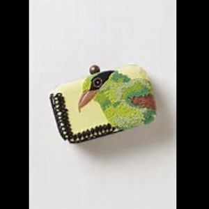 bird small clutch NWOT