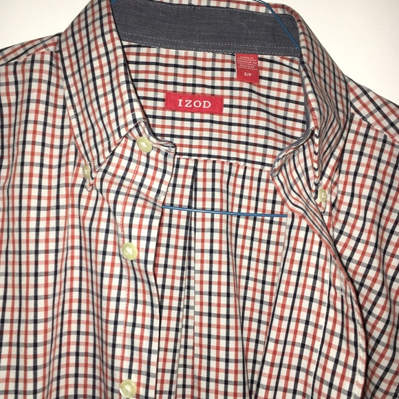 88 off izod other men 39 s small izod button down collar for Small collar dress shirt