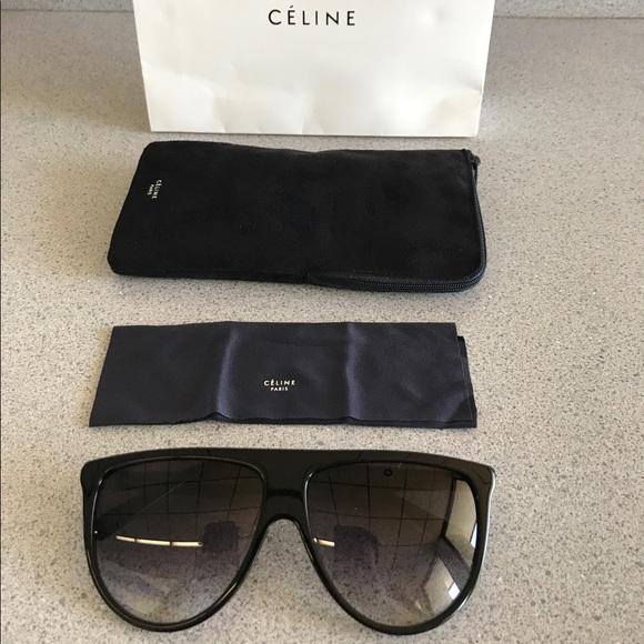 effa8637b13 Celine CL 41435 CPLB.38 NO sunglasses in black new