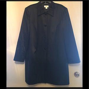 Talbots Silk Trench Coat