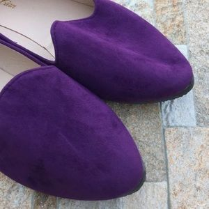 Shoes - Suede Penny Loafers
