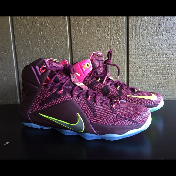 edc2522c629e Nike Lebron 12 XII Double Helix Basketball Shoes