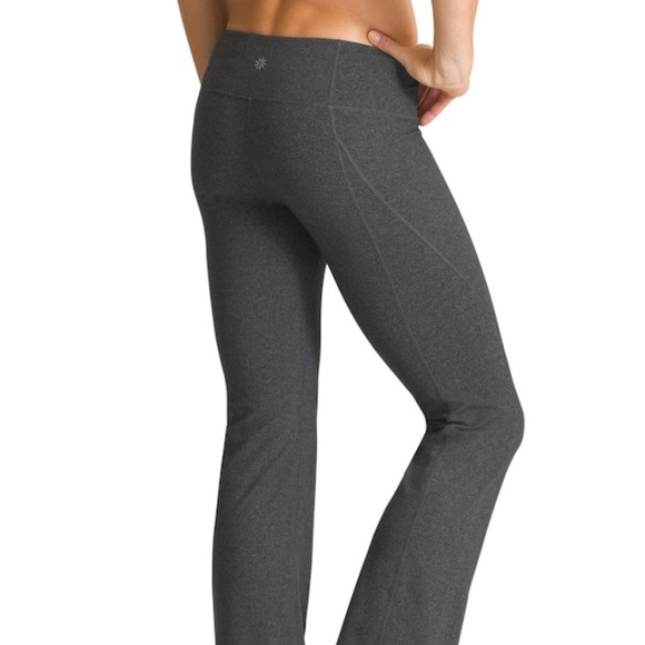 f96225938b Athleta Pants   Revelation Yoga Pant Charcoal Euc   Poshmark