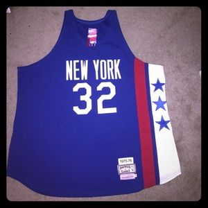 Julius Erving (Dr. J) Mitchell and Ness jersey