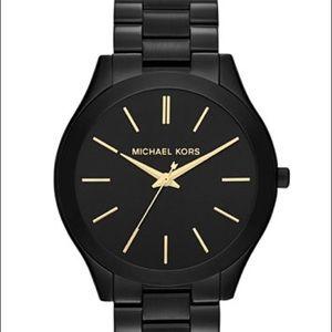 Michael Kors Black Stainless Steel Watch 42mm
