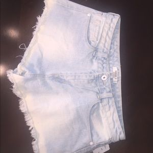 Denim shorts from Forever 21 size 28