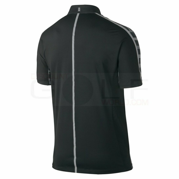 64 off nike other nike tiger woods men 39 s tw stripe polo for Nike polo shirts wholesale