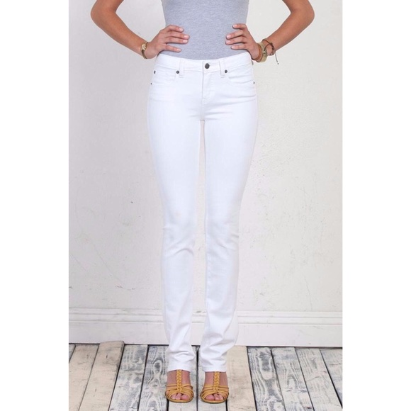 Belle Signature henry & belle pants | henry belle signature straight white jeans