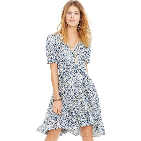 eb148ed9c Denim   Supply Ralph Lauren Dresses   Skirts - Ralph Lauren Floral Cotton  Wrap Dress