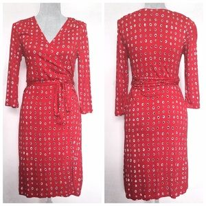 ☀️2 For $20☀️NWT -- Old Navy red wrap dress