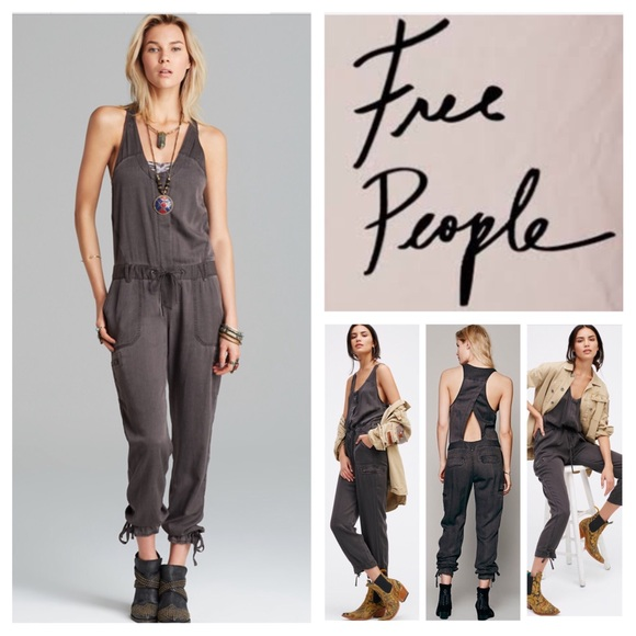 5ab557fab5ff Free People Pants - 🆕Free People Roaring Rayon Jumpsuit. NWOT.