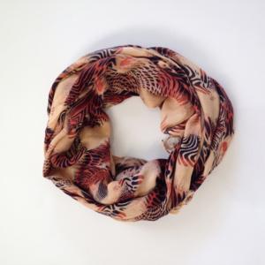 Accessories - Tiger Print Scarf