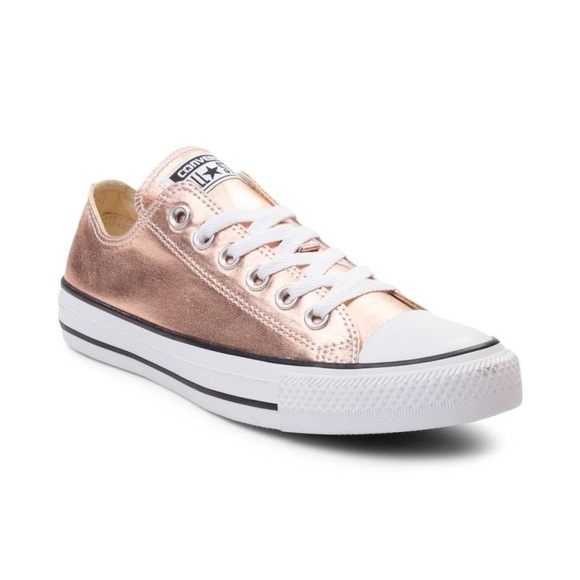ca65dddfaee919 Converse all star chuck Taylor Metallic rose gold