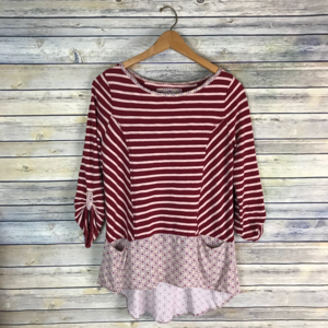 Postmark Anthropologie Fairley Striped Tunic