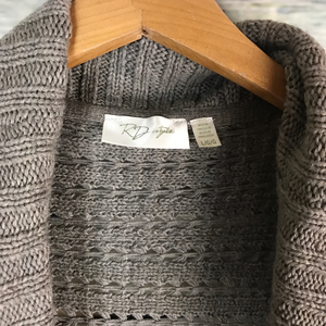 RD Style Sweaters - RD Style Stitch Fix Tan Crochet Chunky Cardigan