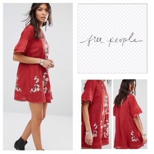 Free People Perfectly Victorian Shift Dress.  NWT.