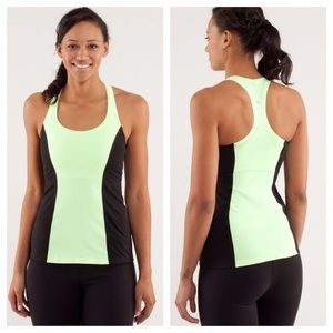 Lululemon Cool Racerback Bonded *Faded Zap Blk