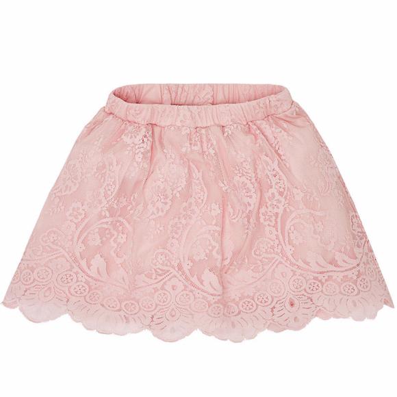 3cfd14833 Mayoral Bottoms | Tween Girls 818 Rosepink Dyed Lace Skirt | Poshmark