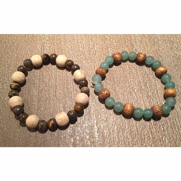 Asian bead bracelets