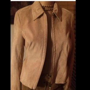 Liz Claiborne suede leather jacket 4
