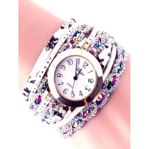 Colorful Wrap Bracelet Watch