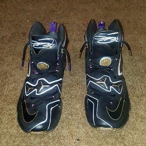 b96e9a0259e Nike Shoes - Customized Lebron James 13