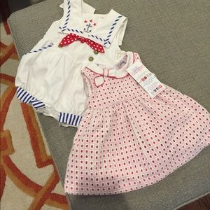 Other - NWT baby girl dress and sailor romper