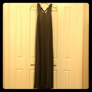 Gap twist back maxi dress