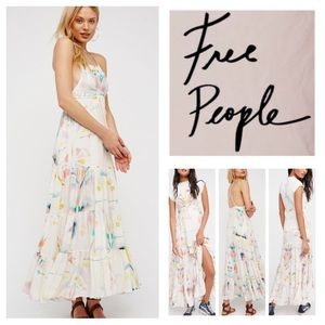 🆕Free People Sound Of Spring Floral Ruffle. NWOT.