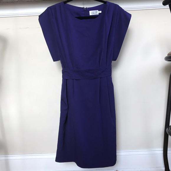 642916d2df5 Eliza J Dresses   Skirts - Eliza J ruffle sleeve sheath dress size 2
