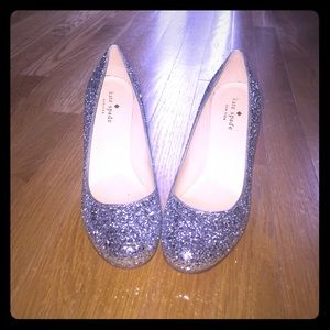 Kate Spade New York glitter pumps like new
