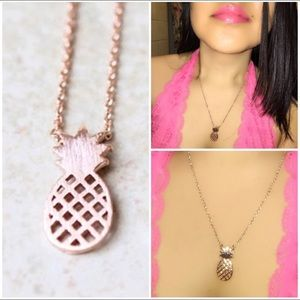 Today Only New🎉 Rose Gold• Pineapple 🍍 Necklace