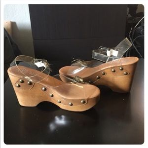 NWT! Jeffrey Campbell wedges