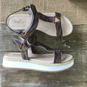 Shelly's London women's summer sandal