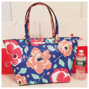 SALE New Kate Spade Large Floral Travel Zip Tote