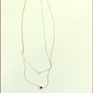 Jewelry - Two tiered necklace - New with Tags