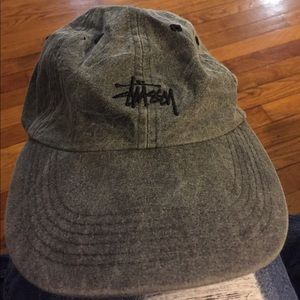 Grayish black Stussy hat never worn.