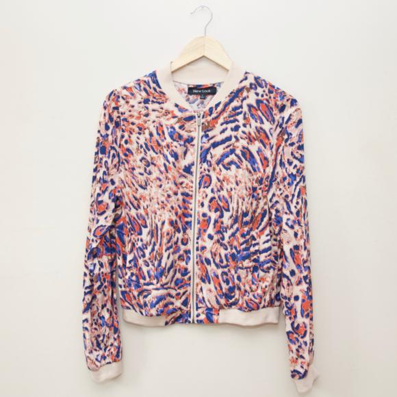 Asos Jackets & Blazers - ASOS New Look Leopard Print Bomber Jacket
