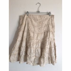 Dresses & Skirts - Boho Chic Cotton Skirt