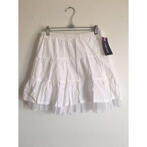 Other - White NEW Girls 14/16 Skirt