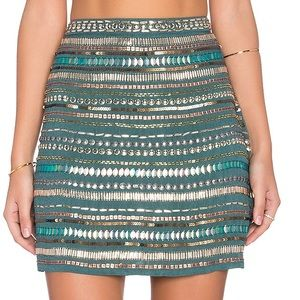 Tularosa Beautiful Green Skirt