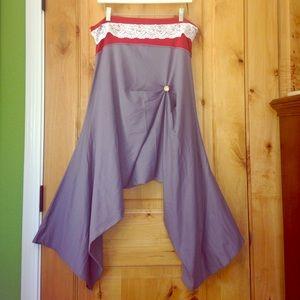 Masala Cropped Steampunk Dance Lounge Pants EUC XL