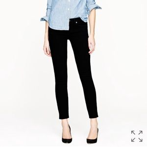 J. Crew Toothpick Jeans In Black Size 26